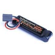 Batterie NiMH Supercharge 1300 stick pack 8.4V - connecteur TRX pour Slash & E-Revo 1/16