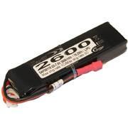 Batterie LiPo Xell-TX 2S 7,4V - 2600mAh 3C - Mini-Deans + émetteur Hitec