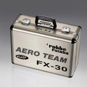 Valise de transport universelle en alu Aeroteam pour émetteurs avec pupitre Futaba et Robbe-Futaba