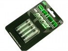 Batteries / piles rechargeables NiMH 1,25V - AAA LR03 - 4 pièces (Photo 1)